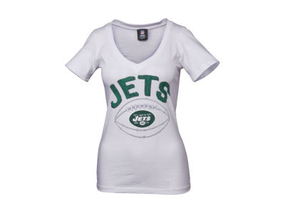 New York Jets 5th & Ocean NFL Womens Baby Jersey Football T-Shirt