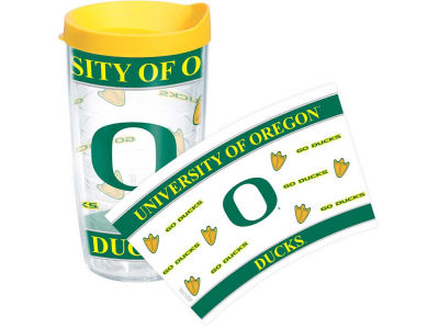 Oregon Ducks 16oz Wrap Tumbler With Lid