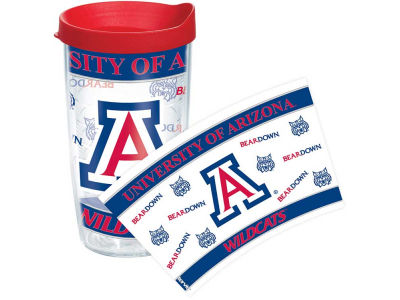 Arizona Wildcats 16oz Wrap Tumbler With Lid