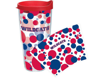 Arizona Wildcats 24oz. Polka Dot Tumbler With Lid