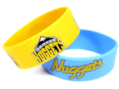 Denver Nuggets 2-pack Wide Bracelet