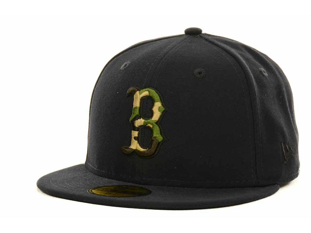 Boston Red Sox New Era MLB Camo Fill 59FIFTY Cap  36677bfe943