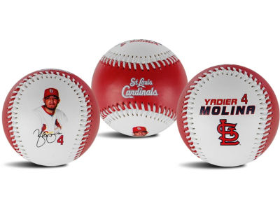 St. Louis Cardinals Yadier Molina The Original Team Logo Baseball