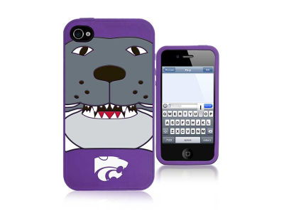 Kansas State Wildcats IPhone 4 Case Silicone Mascot