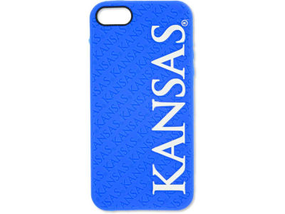 Kansas Jayhawks iPhone SE Case Silicone Logo