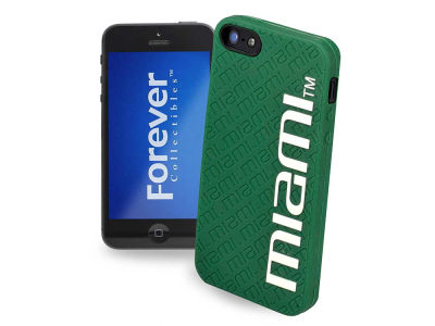 Miami Hurricanes iPhone SE Case Silicone Logo