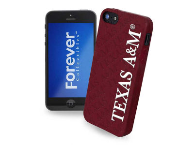 Texas A&M Aggies iPhone SE Case Silicone Logo