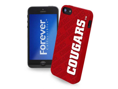 Washington State Cougars iPhone SE Case Silicone Logo