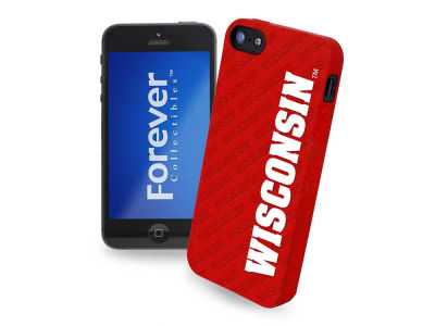 Wisconsin Badgers iPhone SE Case Silicone Logo