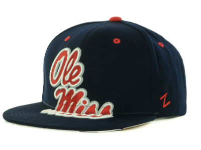 Ole Miss Rebels Zephyr NCAA Menace Snapback Cap