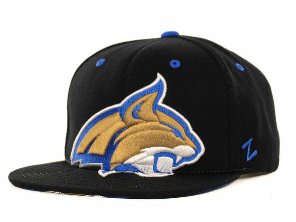 new concept f5b0b 80e76 Montana State Bobcats Zephyr NCAA Menace Snapback Cap   lids.com