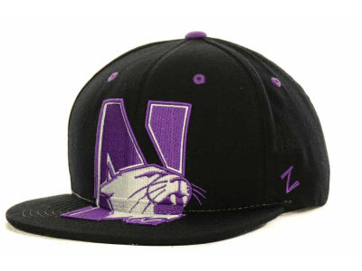 Northwestern Wildcats Zephyr NCAA Menace Snapback Cap