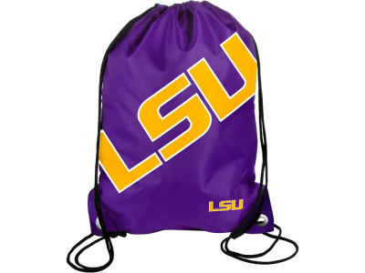 LSU Tigers Big Logo Drawstring Backpack