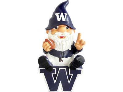 Washington Huskies Gnome Sitting on Logo