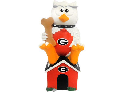 Georgia Bulldogs Thematic Owl Figure