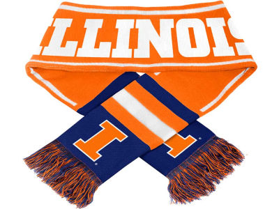 Illinois Fighting Illini 2013 Wordmark Acrylic Knit Scarf