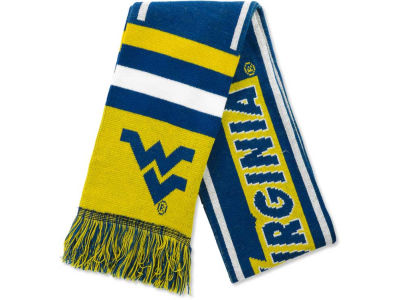 West Virginia Mountaineers 2013 Wordmark Acrylic Knit Scarf