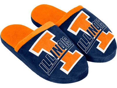 Illinois Fighting Illini Mascot Slide Youth Slippers
