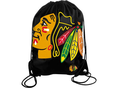 Chicago Blackhawks Big Logo Drawstring Backpack