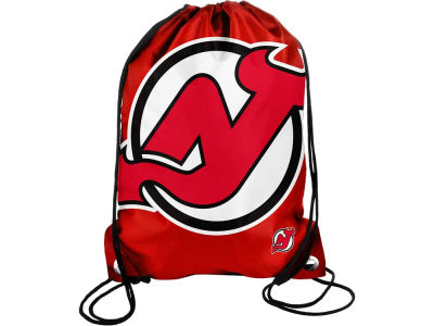 New Jersey Devils Big Logo Drawstring Backpack