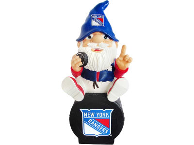 New York Rangers Gnome Sitting on Logo