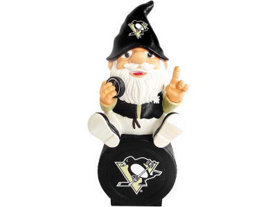 Pittsburgh Penguins Gnome Sitting on Logo