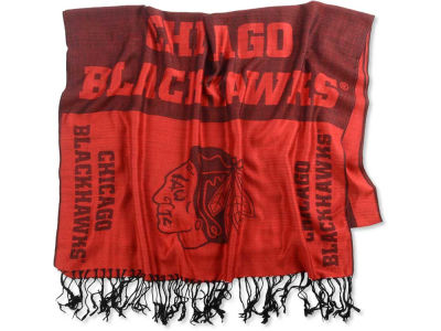 Chicago Blackhawks Logo Pashmina Scarf