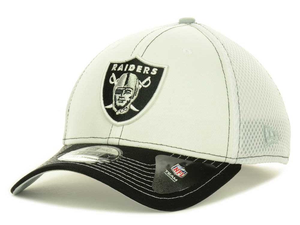 60393c42cdd Oakland Raiders New Era NFL Blitz Neo 39THIRTY