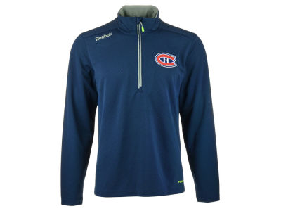 Montreal Canadiens Reebok NHL CN Center Ice Baselayer 1/4 Zip