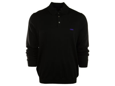 LSU Tigers NCAA Brooks Brothers Long Sleeve Polo
