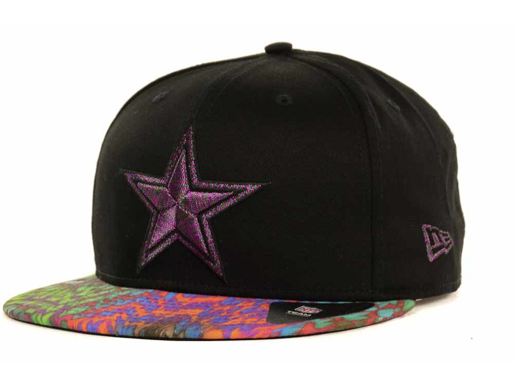 dallas cowboys new era nfl flyera 9fifty strapback cap