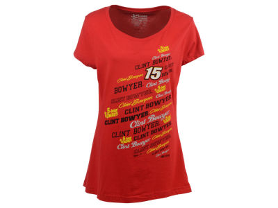 Clint Bowyer NASCAR Ladies Signature T-Shirt