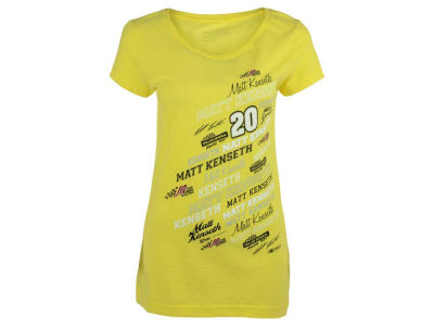 Matt Kenseth NASCAR Ladies Signature T-Shirt