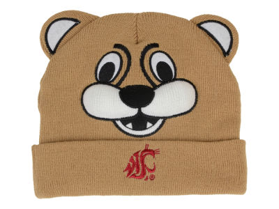 Washington State Cougars NCAA College Mascot Beanie