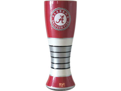 Alabama Crimson Tide Art Glass Pilsner