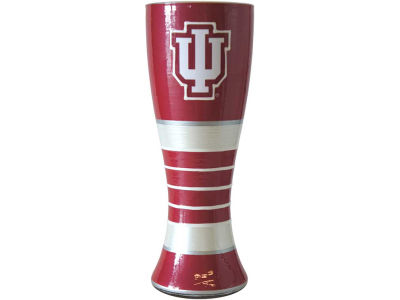 Indiana Hoosiers Art Glass Pilsner