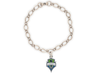 Seattle Sounders FC MLS Charm Bracelet