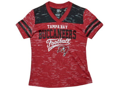 Tampa Bay Buccaneers Nike NFL Youth Girls Burnout Jersey T-Shirt