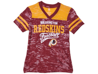 Washington Redskins Nike NFL Youth Girls Burnout Jersey T-Shirt