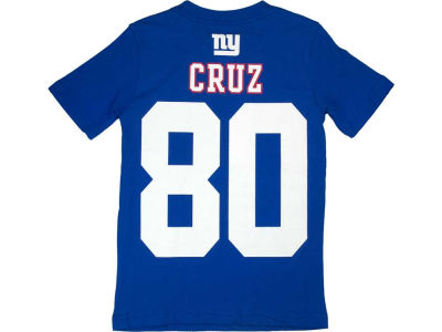 New York Giants Victor Cruz Nike NFL Youth Big Number T-Shirt