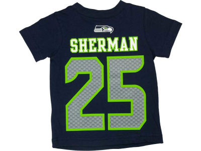 Seattle Seahawks Richard Sherman Nike NFL Youth Big Number T-Shirt