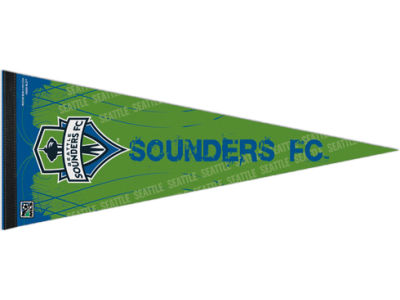 Seattle Sounders FC 12x30in Pennant