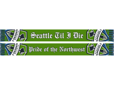 Seattle Sounders FC MLS Pride Scarf