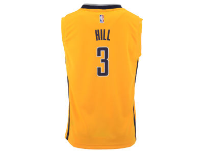 Indiana Pacers George Hill adidas NBA Youth Rev 30 Replica Jersey