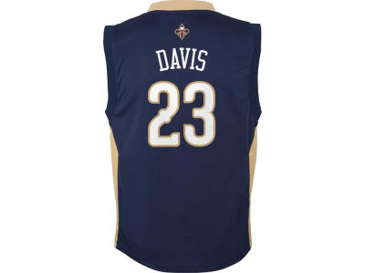 New Orleans Pelicans Anthony Davis Youth NBA Revolution 30 Jersey