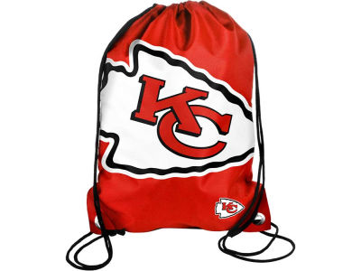 Kansas City Chiefs Big Logo Drawstring Backpack