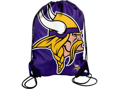 Minnesota Vikings Big Logo Drawstring Backpack