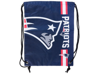 New England Patriots Big Logo Drawstring Backpack
