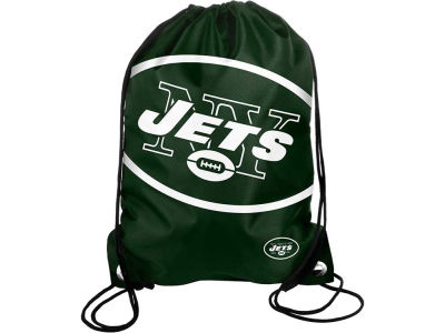 New York Jets Big Logo Drawstring Backpack