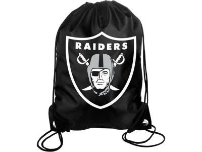 Oakland Raiders Big Logo Drawstring Backpack